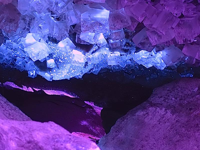 Mit der Kamera kann man die Schönheit der Salzkristalle gar nicht einfangen - das muss jeder selbst erlebt haben / © Redaktion FrontRowSociety.net