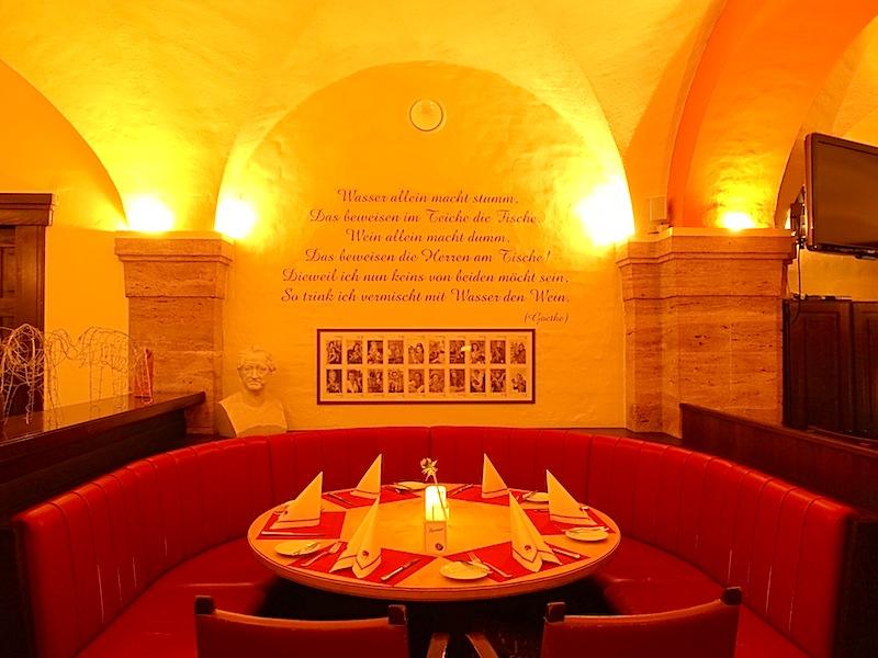 Im historischen Elephantenkeller im Hotel Elephant gibt es schöne Sitzecken / © Redaktion FrontRowSociety.net