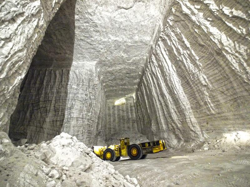 Auch unter Tage sind noch gigantische Salzvorkommen vorhanden - hätten das mal unsere Vorfahren gewusst - ob sie dann Salz in Gold aufgewogen hätten? / © K+S Aktiengesellschaft
