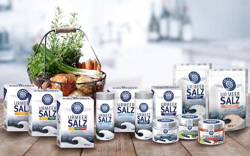 """Das reine, unraffinierte Steinsalz aus den natürlichen Salzvorkommen der Urzeit - SALDORO ist eine Marke der esco / © K+S Aktiengesellschaft"""""""