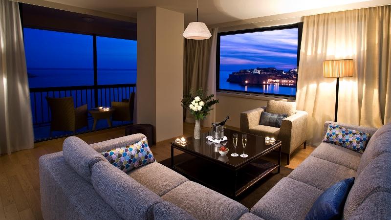 Die Penthouse Suite im Hotel Excelsior ist mit ihrem Panoramablick etwas ganz Besonderes / © Adriatic Luxury Hotels