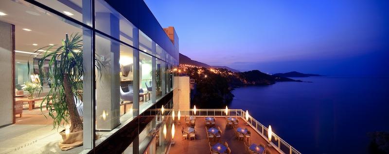 Traumhafter Blick auf die Adria vom Hotel Bellevue aus / © Adriatic Luxury Hotels