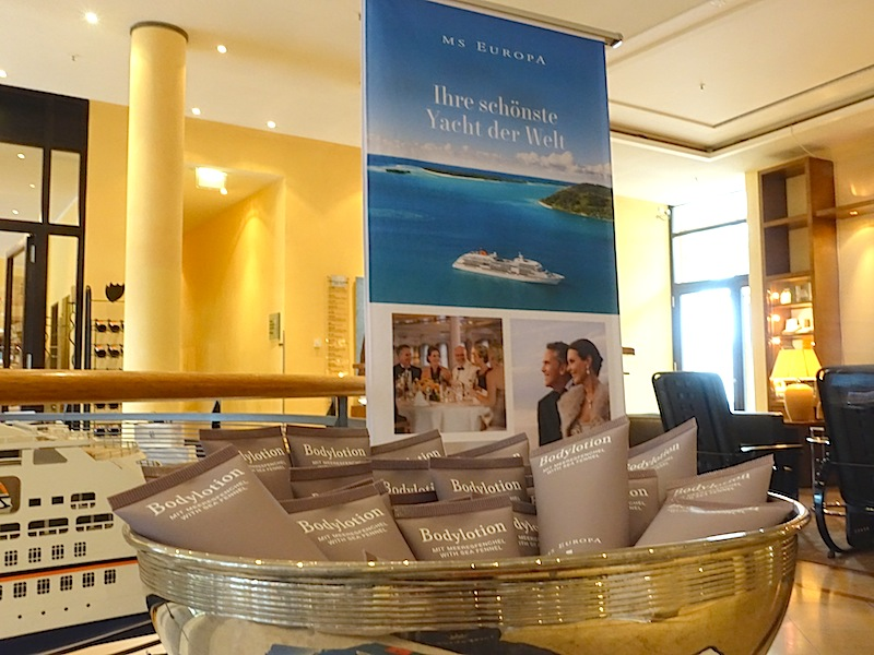 Feinschmecker reisen gerne. Wäre da nicht eine Kreuzfahrt mit einem der schönsten Yachten der Welt - der MS Europa oder der MS Europa 2 - die richtige Wahl? / © Redaktion FrontRowSociety.net