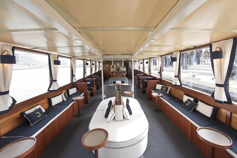 Die MS JACOB - das Hotelschiff ist das neueste Familienmitglied in der Jabobs-Familie / © Louis C. Jacob