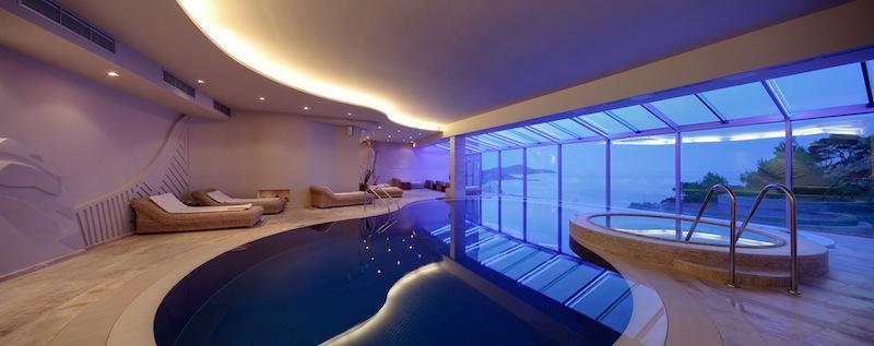 Auch der Pool und Wellnessbereich im Hotel Bellevue ist etwas ganz Besonderes / © Adriatic Luxury Hotels