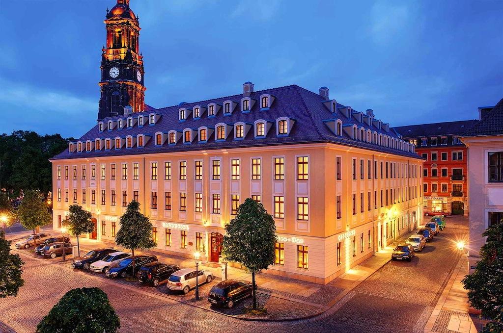 Das 5-Sterne-Superior-Hotel Bülow Palais liegt im schönen Dresdener Barockviertel / © Hotel Bülow Palais