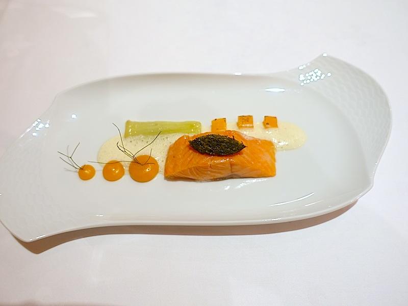 Eine wirkliche gelungene Kombination: Forelle, Fenchel und Aprikose / © Redaktion FrontRowSociety.net
