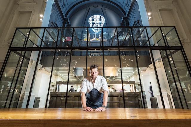 Nick Bril und Sergio Herman (einer von zwei Köchen weltweit, die jemals vom Gault-Millau mit 20 Punkten ausgezeichnet wurden / © für das Rheingau Gourmet & Wein Festival erteilt / © Erick Leinberg