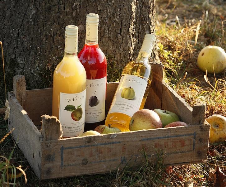 Die sortenreinen Fruchsäfte von Van Nahmen werden den Gästen auf dem Rheingau Gourmet & Wein Festival auch dieses Jahr wieder munden / © Van Nahmen