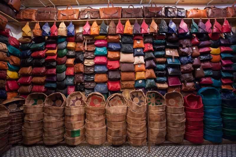 Ein Verkaufsraum der Lederkooperative. In ihr haben sich die Gerber zusammengeschlossen, um Dumpingpreise und Importleder zu verhindern / © FrontRowSociety.net, Foto Georg Berg
