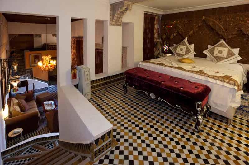 Die Royal Suite Moulay Hassan ist auf zwei Etagen aufgeteilt / © FrontRowSociety.net, Foto Georg Berg