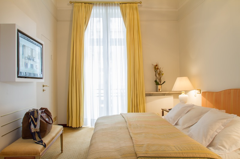Die Suiten können mit Doppel- oder Twinbetten gebucht werden / © Excelsior Hotel Ernst