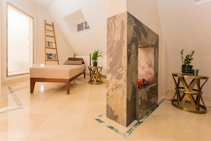 Der Ruhebereich - entspannen nach dem Saunagang ist hier angesagt / © Excelsior Hotel Ernst