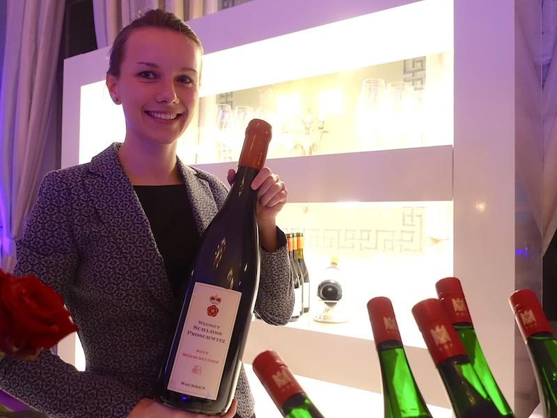 Eine Auswahl an erlesenen Weinen präsentierte auch das Weingut Schloss Proschwitz / © Redaktion FrontRowSociety.net