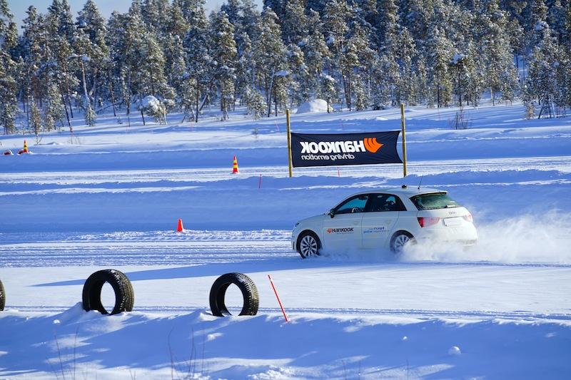 Auch Traktions- oder Bremstests gehören zum täglichen Programm der Testfahrer von Hankook / © Redaktion FrontRowSociety.net