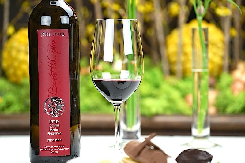 Der 2008er Merlot Reserva von Bazelet Hagolan lässt sich mit der großen Weinen der Welt messen / © Redaktion FrontRowSociety.net