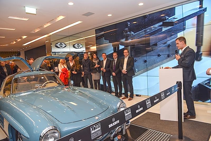 """Zur Eröffnung des """"KÖ90"""" Flagship Stores waren zahlreiche nationale und internationale Gäste geladen"""