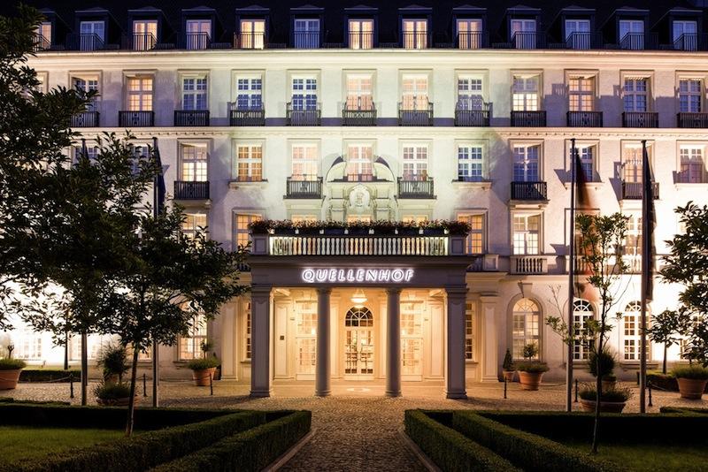 Das Luxushotel PULLMAN AACHEN QUELLENHOF steht seit 1916 für erstklassige Architektur