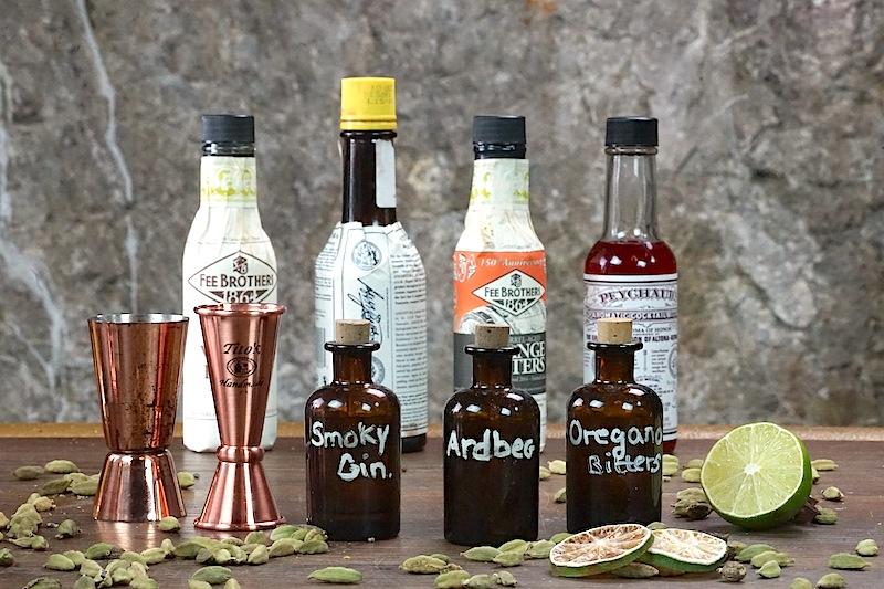 ... und viele Gin-Ingredients erstellen gute Bars selbst oder bedienen sich qualitativer Lieferanten