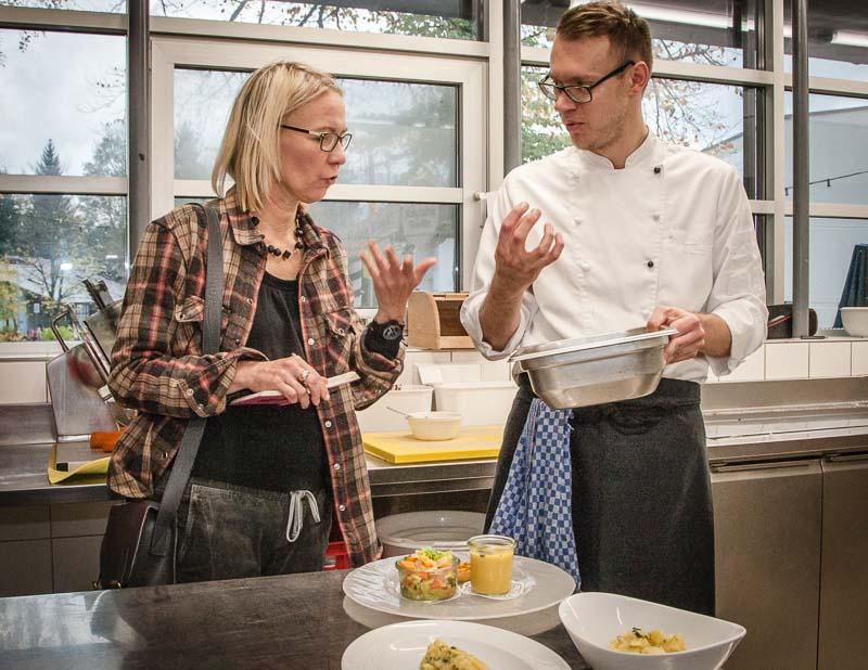 Jagdhaus Küchenchef Christian Fleuter überzeugt mit Geschmacksrichtungen die in Vergessenheit geraten sind