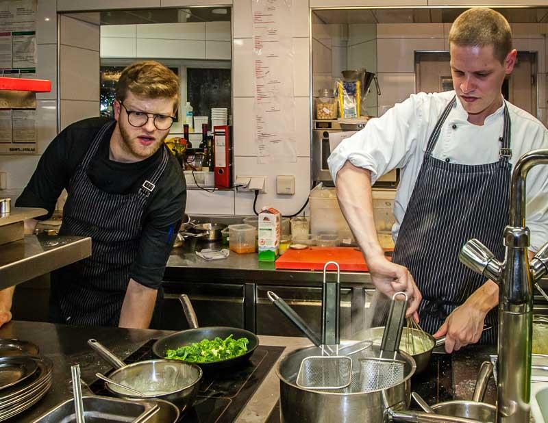 Auch hier gibt es die feine Küche des Sternekochs Tobias Eisele