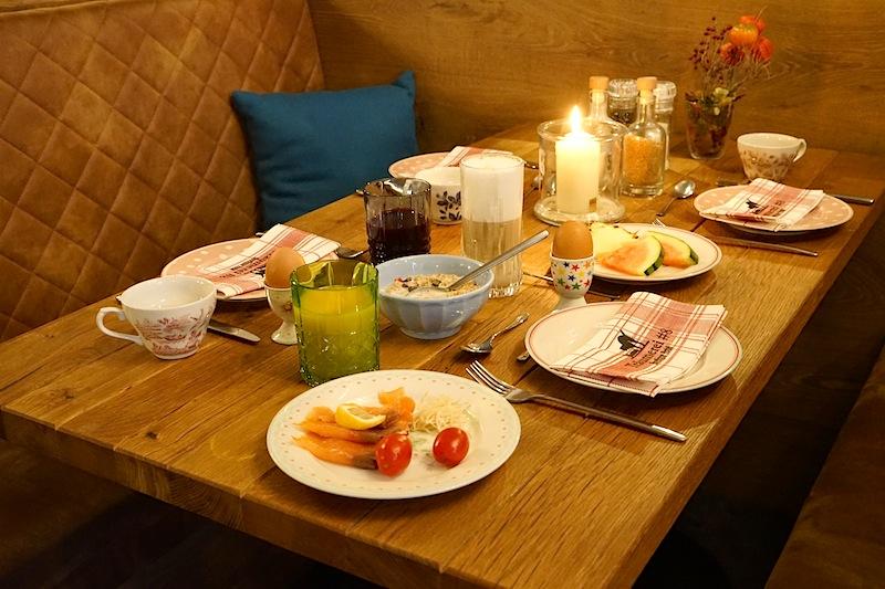 Im Boutique-Hotel Träumerei #8 können Gäste täglich bis 11 Uhr frühstücken