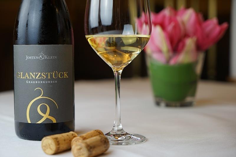 Das Glanzstück vom Weingut Josten & Klein entpuppte sich als großartiger Grauburgunder aus dem Ahrtal