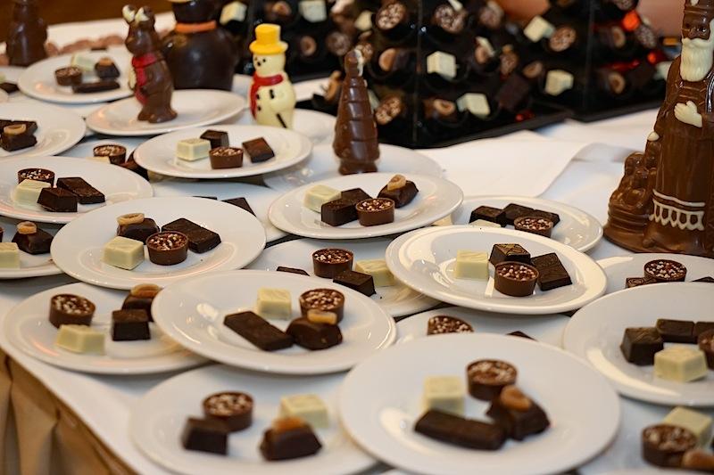 Belgisches handgeschöpftes Schokoladenkonfekt ist zu jedem Anlass willkommen