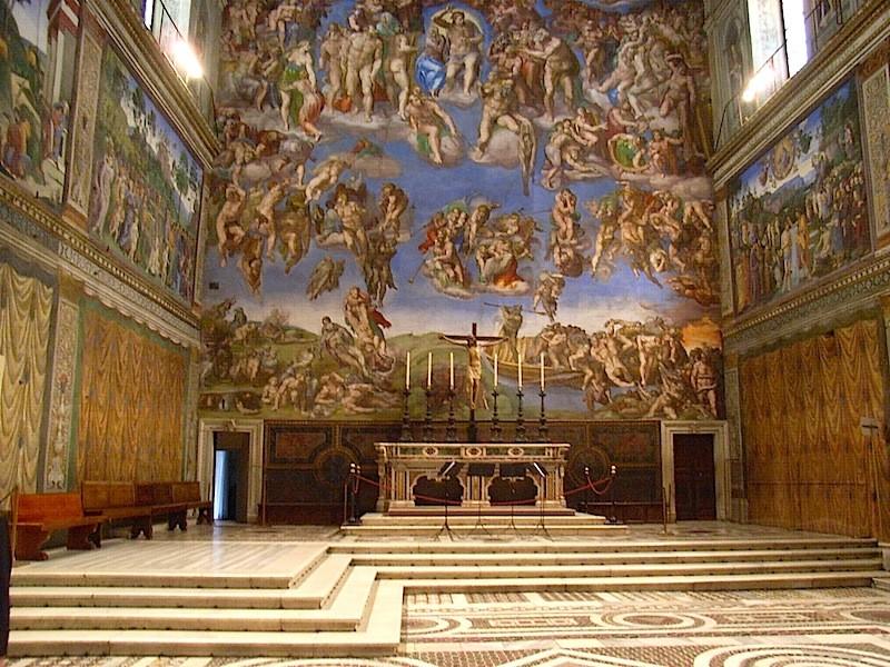 Die Sixtinische Kapelle, ein Meisterwerk Michelangelos: Für die Ewigkeit erschaffen