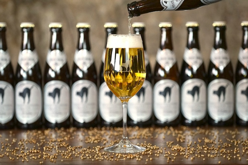 """Auch Bodenständiges hat die Bar im Bestand, wie etwa die Private Edition """"Stollen 1930"""" Bier"""