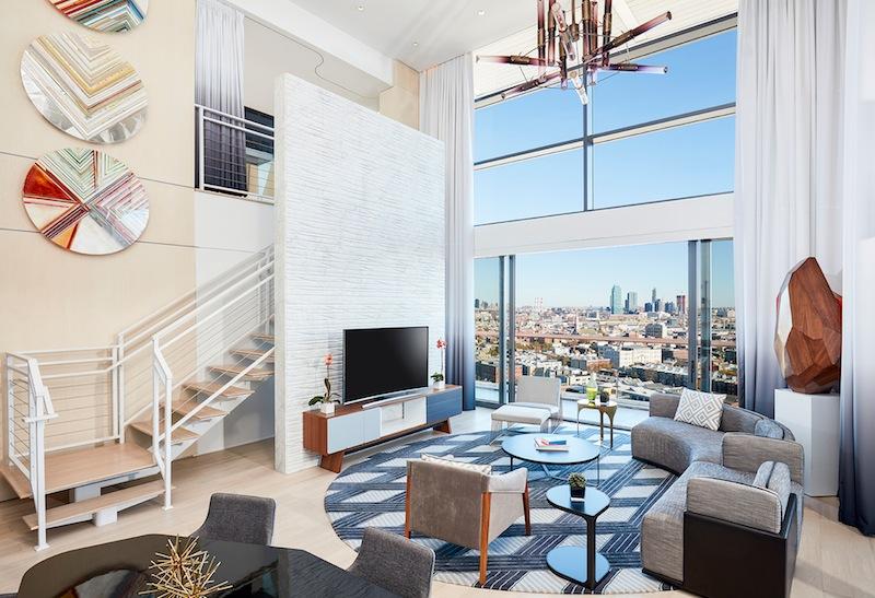 """Verehrer des """"Modern Design"""" werden sich in diesem Luxushotel sehr wohlfühlen"""