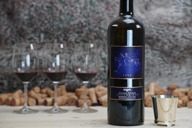 Der Premium-Wein von Nittardi: Nectar Dei, benannt nach dem Ursprung des Weinguts Nittardi