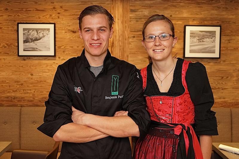 Benjamin Parth und Sarah Falch führen eines der besten Gourmetrestaurants in Österreich, das Stüva