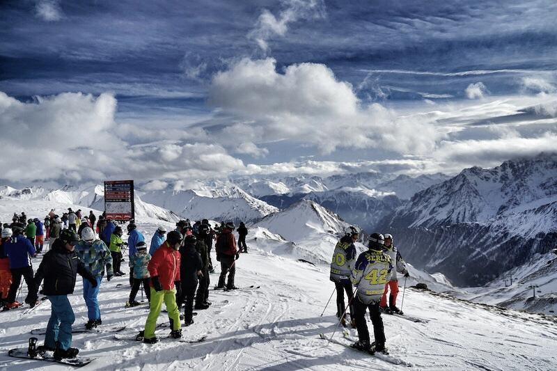 Ischgl wurde unter anderem dafür augezeichnet, sein Skigebiet bestens beschildert zu haben