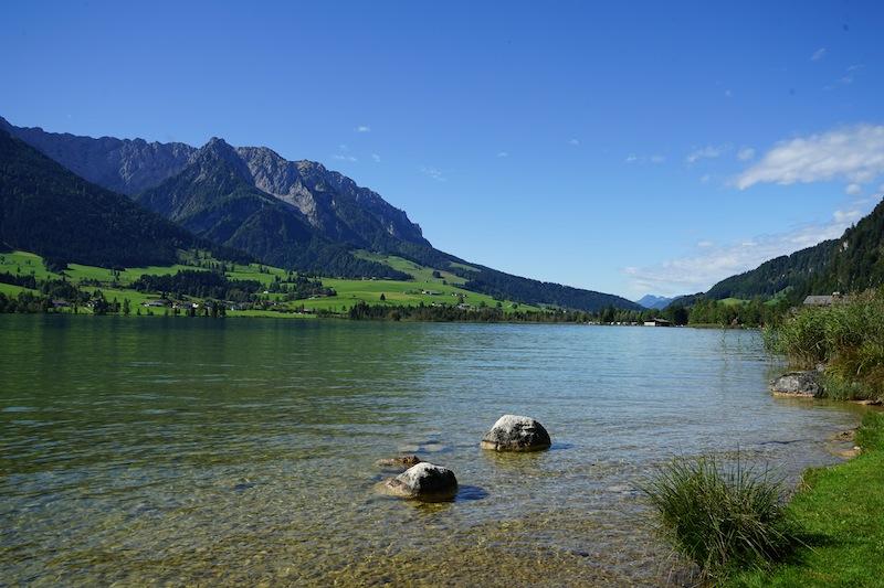 Top Wasserqualität und im Sommer bis zu 24 Grad Celsius warm: Der Walchsee
