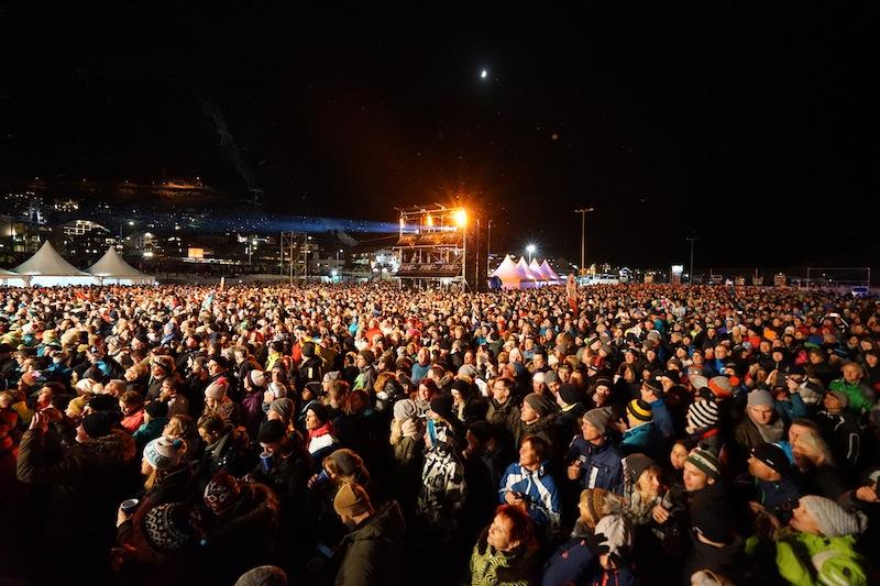 16.000 Menschen waren bei Konzert von Andrea Berg anlässlich des Ski-Opening in Ischgl dabei