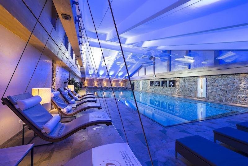 Nach einem anstrengenden Golftag geht es in die außergewöhnliche Wellnessanlage im Hotel Peternhof