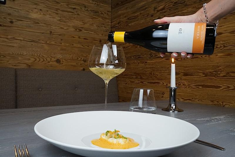Kabeljau mit Paprika und Lauch - dazu ein TO aus 2014 vom Weingut Velich