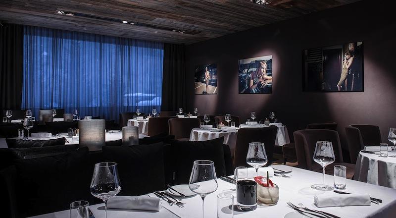 Das Gourmet-Restaurant The Saint: Schnörkelloses maskulines Design