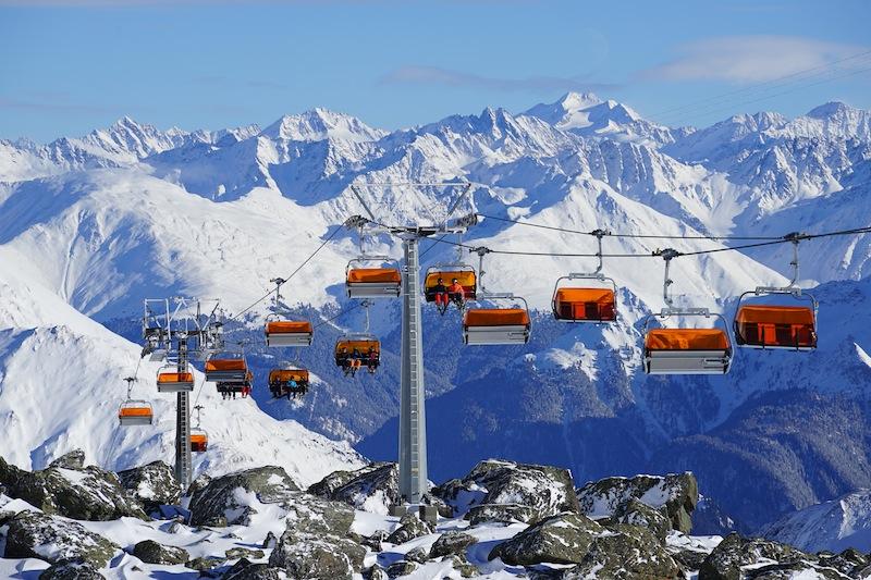 Das einzigartige Panorama zu erleben, ist im Skipass inbegriffen