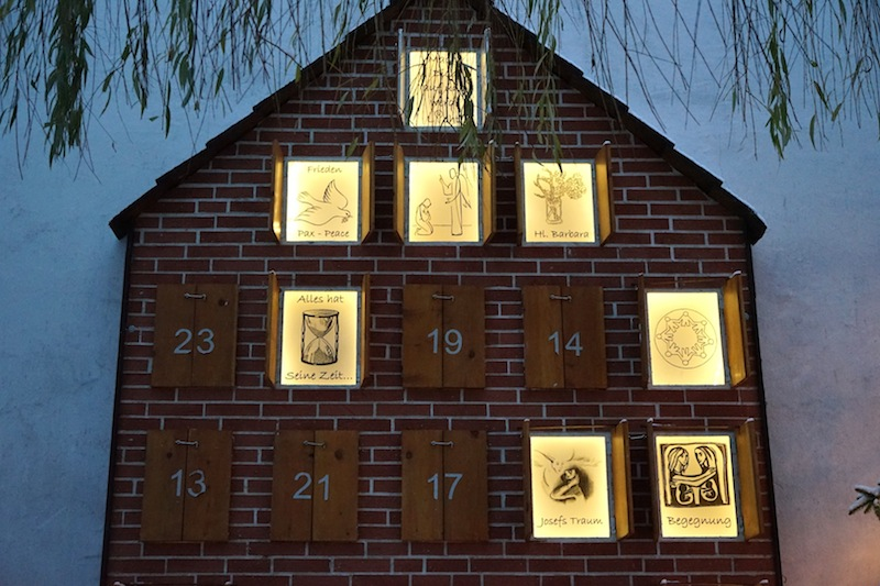 Adventskalender XXL in Münster-Handorf