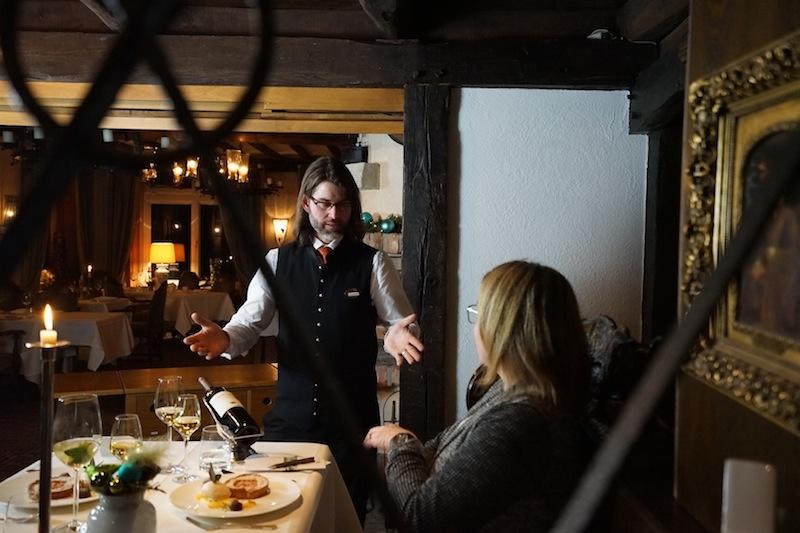 Freundlicher und kompetender Service darf in Münsters Romantik Hotel erwartet werden