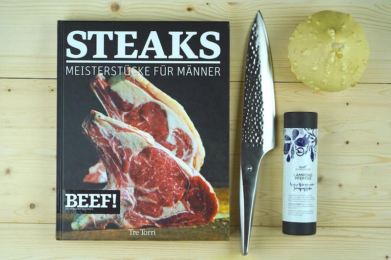 Steakgenuss in gedruckter Form - ein Buch (nicht) nur für Männer gemacht