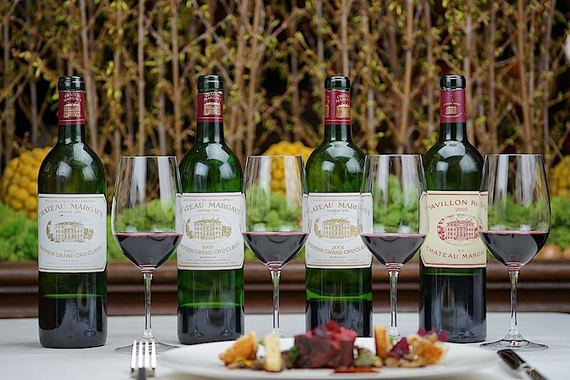 Großartige Jahrgänge des fulminanten Château Margaux standen zur Verkostung bereit
