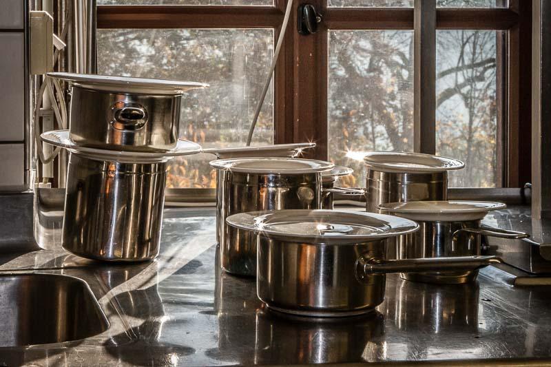 Sterneküche: auf Burg Wernberg funkeln selbst die Kochtöpfe!