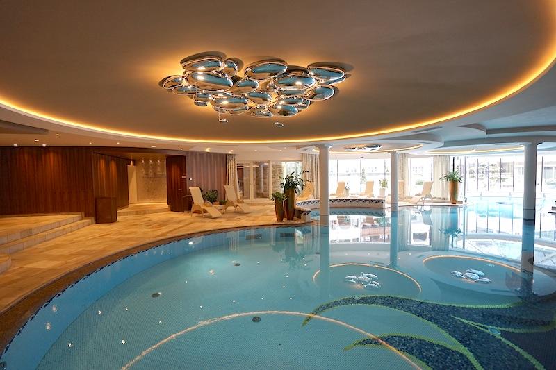 Der Indoor-Pool: Nach dem Skifahren oder der Wanderung die ideale Entspannung für alle die Wasser mögen