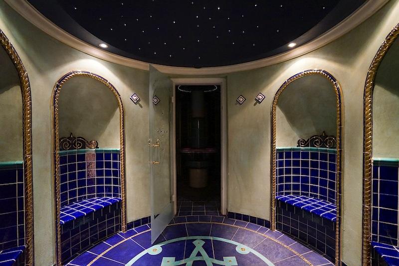 Das Hammam bittet zur ritualen Reinigung - das orientalische Dampfbad ist bei Spa Gästen sehr beliebt