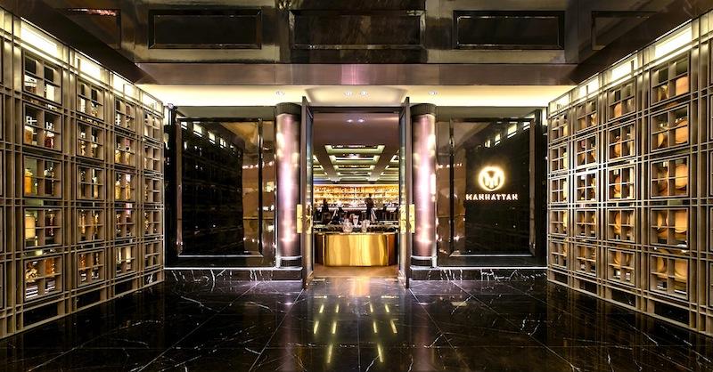 Manhattan Bar: Willkommen in der besten Bar in Singapur - Platz 1 in Asien und Platz 7 in der Welt