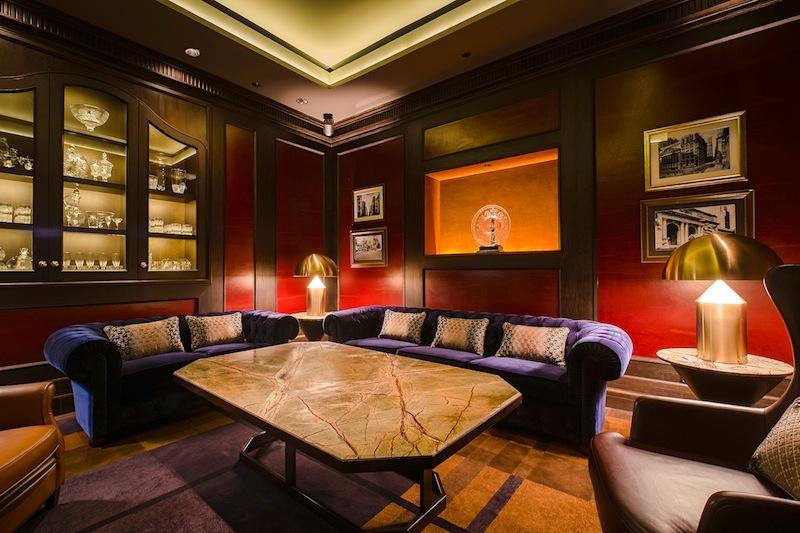 Der Private Room, rechts neben dem Bartresen liegend, ist für persönliche Feiern im kleinen Rahmen geeigne
