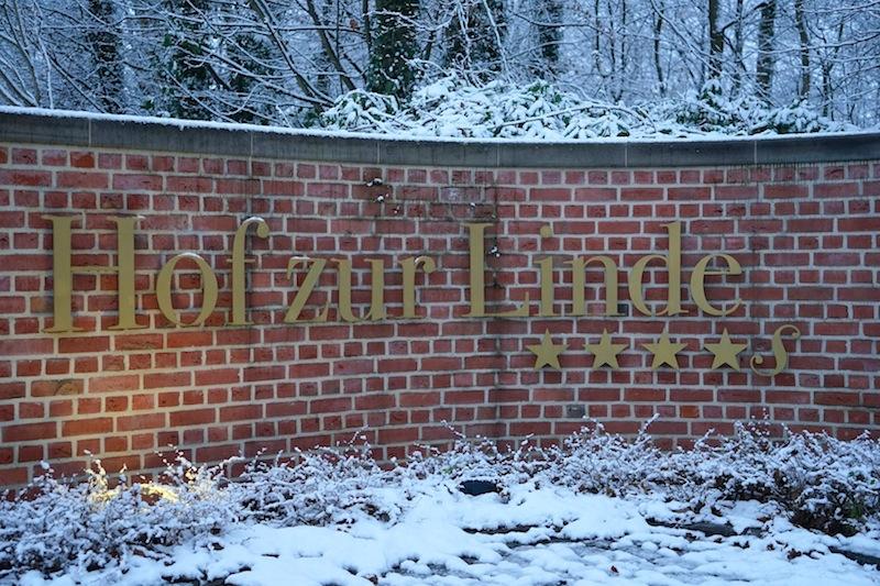 Angekommen im 4-Sterne Superior Romantik Hotel Hof zur Linde i Münster-Handorf